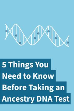 5 things you need to know about taking an Ancestry DNA test! Do you want to take an ancestry DNA test to gain a more complete story of your genetic makeup. With advances in modern technology, it's easier than ever … Read Genealogy Sites, Genealogy Research, Family Genealogy, Web Social, Social Media, Just In Case, Just For You, Things To Know, 5 Things