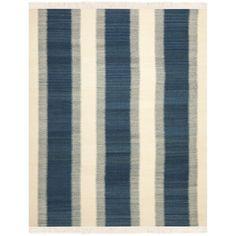 Safavieh Navajo Kilim Blue / Ivory Rug