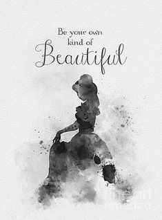 My Inspiration - Beautiful Black and White Beauty And Beast Quotes, Beauty And The Beast, Disney Princess Quotes, Disney Quotes, Disney Posters, Arte Disney, Disney Art, Frases Disney, Art Prints Quotes