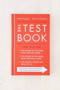 The Test Book: 64 Tools To Lead You To Success By Mikael Krogerus & Roman Tschappeler - Urban Outfitters