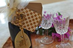 C'est si bon valentines day wine topper. personalized scriptures for love. great valentines day gift. valentine craft idea. perfect for men.