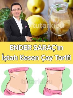Ender Saraç's Appetizing Tea Recipe – Diet and Nutrition Weight Loss Detox, Weight Loss Smoothies, Lose Weight, Detox Recipes, Tea Recipes, Detox Tee, Health Cleanse, Cheap Cruises, Spa Deals