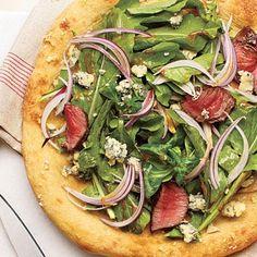 Steak House Pizza | CookingLight.com