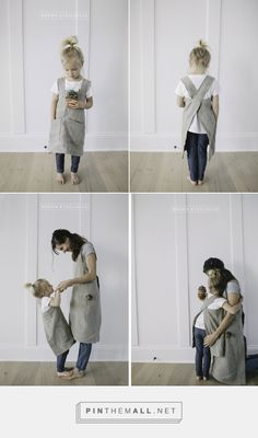 pinafore apron pattern for child and adult ...