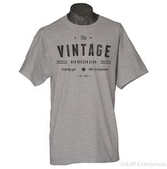 Custom Birthday Tshirt Personalized Vintage Old by gorillatactical, $14.99
