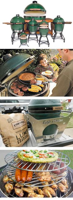 The Big Green Egg was designed to provide the ultimate grilling experience, providing delicious smoked flavor and precision grilling, easy start-up and unmatched flavor. It's a smoker, a grill, and an oven all in one!