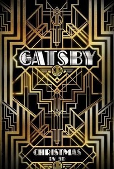 Films with fashion influence - 2013 The Great Gatsby poster