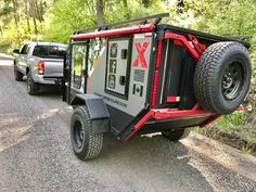Off Road Trailer, Trailer Build, Trailer Diy, Small Trailer, Overland Trailer, Diy Camper, Camper Caravan, Rv Campers, Small Campers