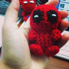 #deadpool #crochet #amigurumi squeeeee