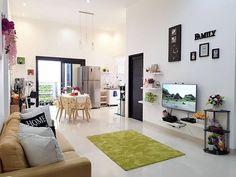 Small House Interior Design, Home Room Design, Home Design Plans, Living Room Designs, Minimalist House Design, Minimalist Home Interior, My Living Room, Living Room Decor, Warm Home Decor