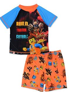 The Lego Movie 2 Boys Emmet /& Rex Microfleece Robe