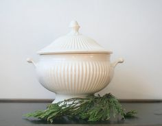 Another Ironstone Tureen.  Can't get enough of these.