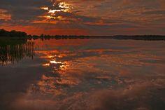 Tagesende in Farbe und HD am Mechower See bei Ratzeburg (Copyright: Thomas Ebelt)