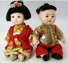 ichimatsu dolls. Have a set like that from our trip to Japan