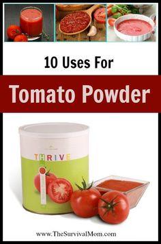 Tomato Powder uses