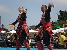 Tausug dance performed on wedding day