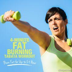 4-Minute Fat Burning Tabata Workout