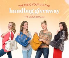 Enter February's giveaway for your chance to win one of these handbags true to your Type of beauty?