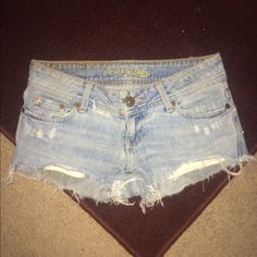 American Eagle vintage denim Shorts cute short shorts;) American Eagle Outfitters Jeans