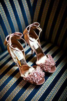 Sandali rosa cipria