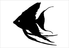 Fish Silhouette Vector Download Silhouette Graphics