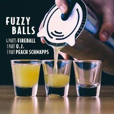 New party drinks bar alcohol shot recipes 17 Ideas Fireball Drinks, Non Alcoholic Drinks, Bar Drinks, Fireball Shot, Fireball Recipes, Fireball Whiskey, Whiskey Shots, Bourbon Drinks, Scotch Whiskey