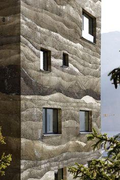 Mierta & Kurt Lazzarini Architekten/ rammed earth...!