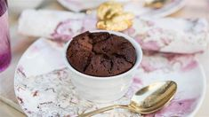 These warm chocolate pudding cakes make a truly decadent winter dessert