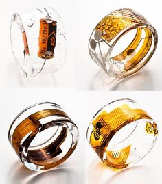 @Maxime Dehaye Duprez: Geek Design: recycled high-tech jewelry by Paola Mirai