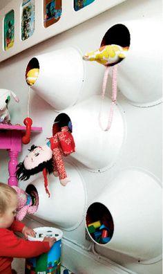 Sjov opbevaring til børneværelset
