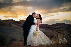 Valley of Fire Wedding @ Sunset