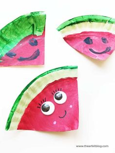 15 Adorable Fruit Crafts for Kids