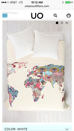 Geographical bed spread
