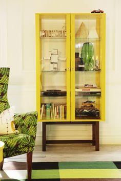 Ikea stockholm Glass Door Display Cabinet