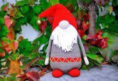 """Amigurumi - Weihnachtswichtel häkeln """"Samtan Salaputius"""""""