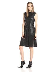 BCBGMax Azria Women's Allexandria Knit Dress with Faux Leather At Mid Calf, Black, X-Small BCBGMAXAZRIA http://www.amazon.com/dp/B013LKISQ8/ref=cm_sw_r_pi_dp_F1Jpwb1N3QW25