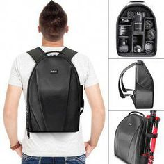 Obedient Multi-functional Camera Backpack Video Digital Dslr Bag Waterproof Outdoor Camera Photo Bag Case Tables Cover For Nikon Canon Consumer Electronics