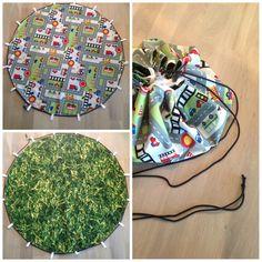 Reversible playmat / bag