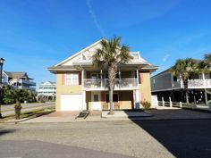 The Ocean House ( 6 Bedroom home ) - Surfside Beach Ocean House, Beach House, Myrtle Beach State Park, Surfside Beach, Private Pool, State Parks, Terrace, Swimming Pools, Cable Channels