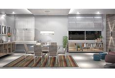 Conjunto Sala de Jantar 6 lugares - Ref. 3046
