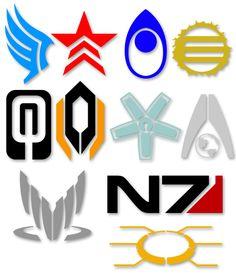 Mass Effect Symbols by ~Tensen01 on deviantART