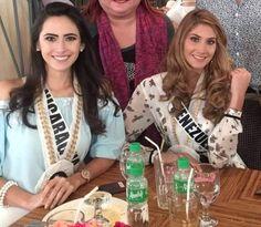 Luego del Paseo por el zoologico de Vigan se dispoonen a Almorzar la 20 Candidatas Seleccionadas paa el Vigan Fashion Show.. Aqui vemos a Miss Nicaragua y Miss Venezuela.. by Antoni Azocar