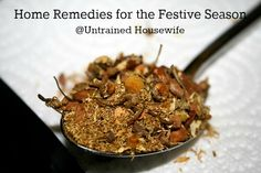 Herbs and Home Remedies for the Holiday Season