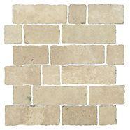 Loreto Autrumn Brush Brick - Kitchen backsplace from The tile shop      Redding Brick 12 x 12 in