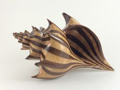 Conical Spiral Wood Shell is a scroll saw pattern that allows you to make a wood shell. Patterns are now available from my website. Wood Turning Projects, Wood Projects, Restore Wood Furniture, Bandsaw Projects, Woodworking Lathe, Woodworking Videos, Chip Carving, Wood Carving Patterns, Scroll Saw Patterns