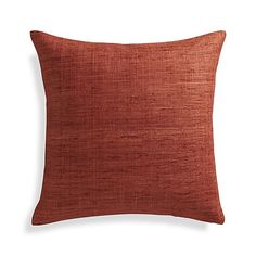 Decorate for the holidays or add a splash of color with decorative throw pillows from Crate and Barrel. Browse a variety accent pillows and order online.