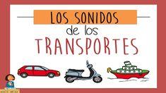 Aprendemos los sonidos de los transportes_Discriminación auditiva Transportation, Sons, Homeschool, Teacher, Videos, Youtube, Audio, Speech Pathology, Early Education