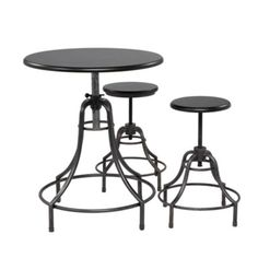 Bistro Adjustable Table - perfect for my kitchen! It arrives Thursday.