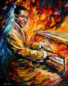 Duke Ellington por Leonid Afremov