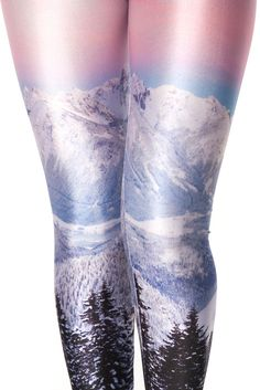 Mountains Pink Leggings - Gorgeous! Why don't they make these anymore!? :(